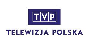 Logo firmy Telewizja Polska